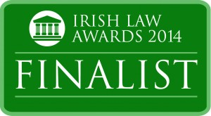 Irish law finalist green logo