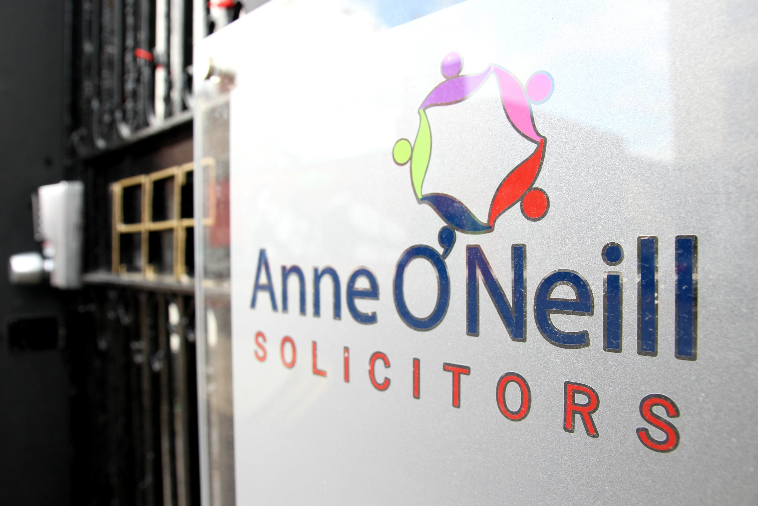 Sign of Anne O'Neill Solicitors